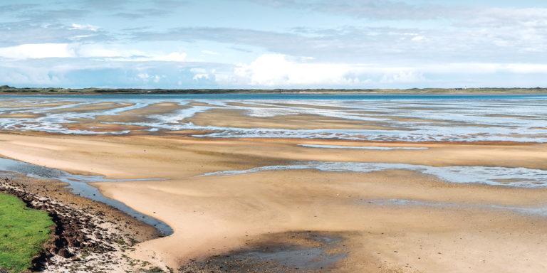 Leinwandbild - Wattenmeer auf Sylt